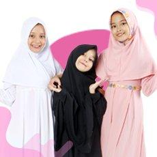 Bajuyuli Baju Muslim Anak Perempuan